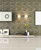 3D Wall Panel - Wave | P/N WD-007C - 12 Panels